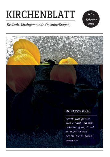 Kirchennachrichten - Ev.-Luth. Kirchgemeinde Oelsnitz im Erzgebirge