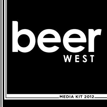 MEDIA KIT 2012 - Beer West Magazine