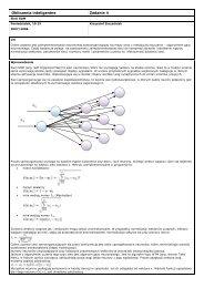Obliczenia inteligentne Zadanie 4