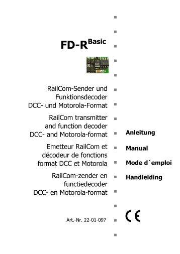 RailCom-Sender und Funktionsdecoder DCC- und Motorola-Format ...