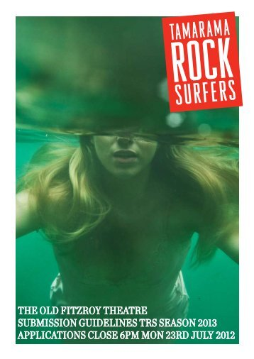 toft 2013 trs submission pack - Tamarama Rock Surfers