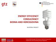 energy efficiency consultancy bosna and hercegovina - Sustainable ...