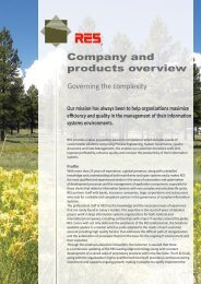 Company and products overview - Res