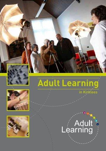 Adult Learning - Community Learning in Kirklees