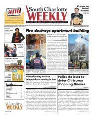 Fire destroys apartment building - Carolina Weekly Newspapers