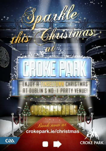 Book now at - Croke Park