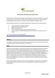 Anti Bribery and Corruption Rules [PDF] - ScottishPower