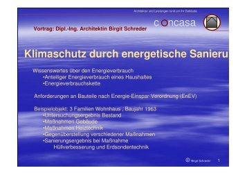 Klimaschutz durch energetische Sanierung - CO2-Erdsonde ...