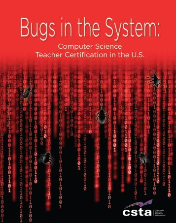 Computer Science Teacher Certification in the U.S. - CSTA - ACM