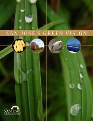 San JoSe'S Green ViSion - City of San José
