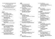 Jahresprogramm 2012 - St. Sebastian Nienberge
