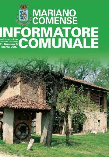 L'INFORMATORE COMUNALE - Bellavite
