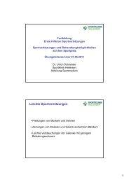 3 Schneider 1 Hilfe Sportverletzungen - Gesundheitszentrum ...
