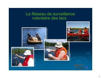 Réseau de surveillance volontaire des lacs (RSVL)