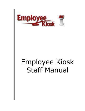 How to access and use the Employee Kiosk Documentation