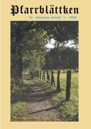 exerzitien im alltag 2006 - St. Sebastian Nienberge