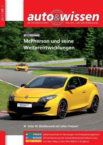 McPherson und seine Weiterentwicklungen - Auto & Wissen