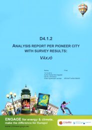 Analysis report with survey results (PDF - English ... - Engage your city!