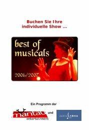 Buchen Sie Ihre individuelle Show ... - bei mantau-entertainment
