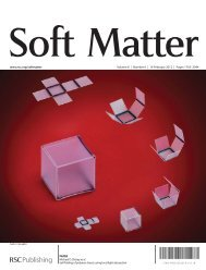 www.rsc.org/softmatter Volume 8 | Number 6 | 14 February 2012 ...