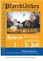 In unserer Gemeinde - St. Sebastian Nienberge