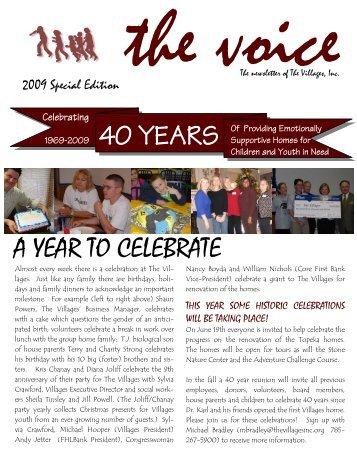 Spring 09 Newsletter - The Villages, Inc.