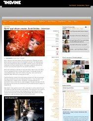 Bjork 'app' album creator, Scott Snibbe - interview