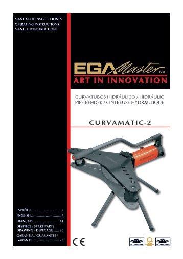 CURVAMATIC-2 - Ega Master