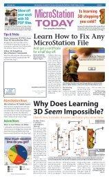 V8i Basic MicroStation Training Outline