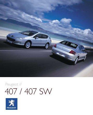 407 / 407 SW - Peugeot