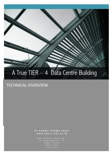 A True TIER – 4 Data Centre Building - IT Service Provider