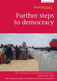 Further steps to democracy