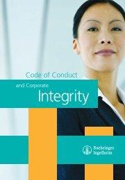Code of Conduct - Boehringer Ingelheim