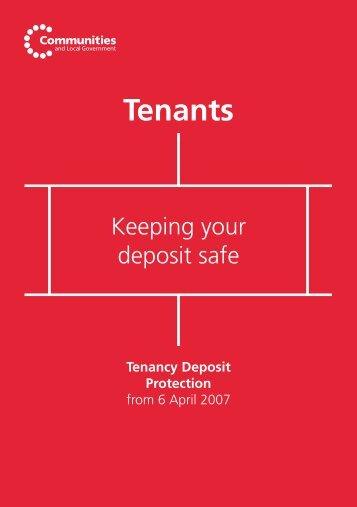 Keeping Your Deposit Safe