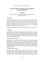 Artikkeli (pdf, 763 kt) - Maanmittaustieteiden Seura