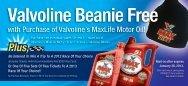 Valvoline's MaxLife Motor Oil