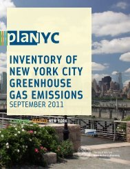 Inventory of New York City Greenhouse Gas Emissions