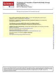 Negrello et al (2010) - Astronomy and Astrophysics at the University ...