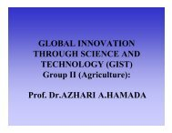 Presentation - GIST Global Innovation through Science & Technology