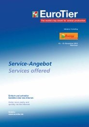 Service-Angebot Services offered - BioEnergy Decentral