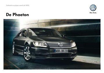 Prijslijst Volkswagen Phaeton per 01-07-2012.pdf - Fleetwise