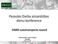 Pasaules Darba aizsardzības dienu konference CIMDI ...
