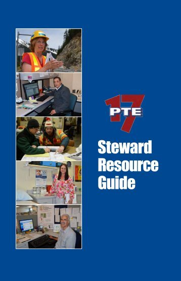 Download the Steward Resource Guide - Local 17