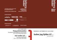 Inden jeg fylder 67… - Aalborg Teater