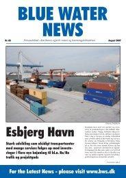 Esbjerg Havn - Blue Water