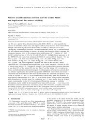 Full Text (pdf) - Harvard Atmospheric Chemistry Modeling Group ...