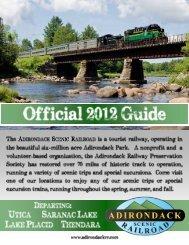 2012 PDF Brochure - Adirondack Scenic Railroad