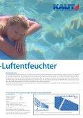 Luftentfeuchter Schwimmbäder - BÄRENKÄLTE GmbH - Seite 4