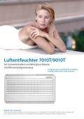 Luftentfeuchter Schwimmbäder - BÄRENKÄLTE GmbH - Seite 7