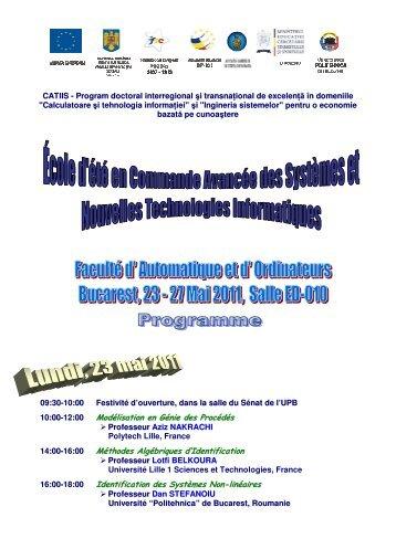 Modélisation en Génie des Procédés Méthodes Algébriques d ...